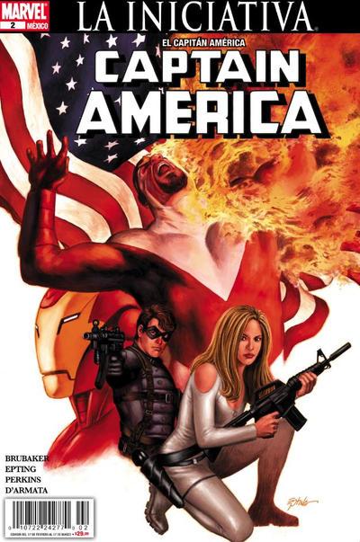 Cover for El Capitán América, Captain America (Editorial Televisa, 2009 series) #2