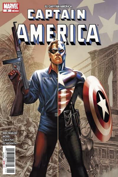 Cover for El Capitán América, Captain America (Editorial Televisa, 2009 series) #9