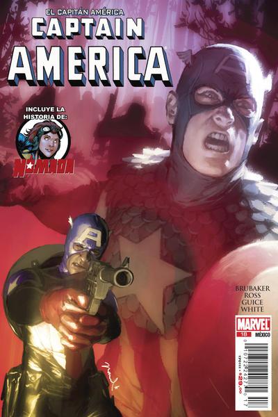 Cover for El Capitán América, Captain America (Editorial Televisa, 2009 series) #18