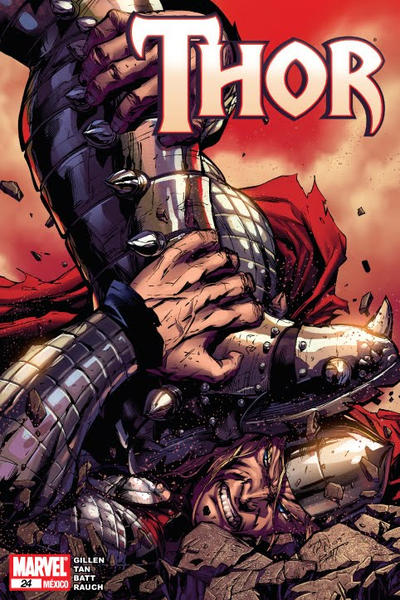 Cover for Thor (Editorial Televisa, 2009 series) #24