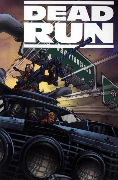 Cover for Dead Run (Boom! Studios, 2009 series)