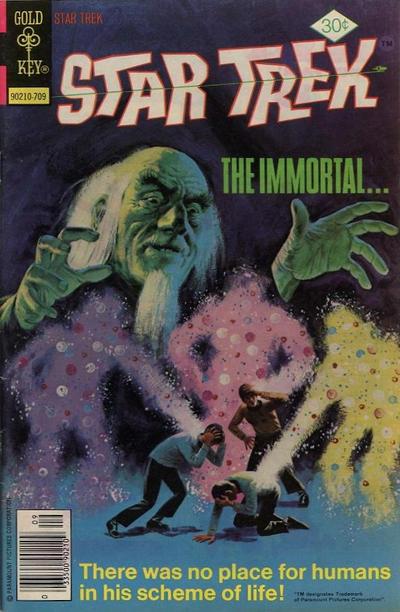 Cover for Star Trek (Western, 1967 series) #47 [Whitman Variant]