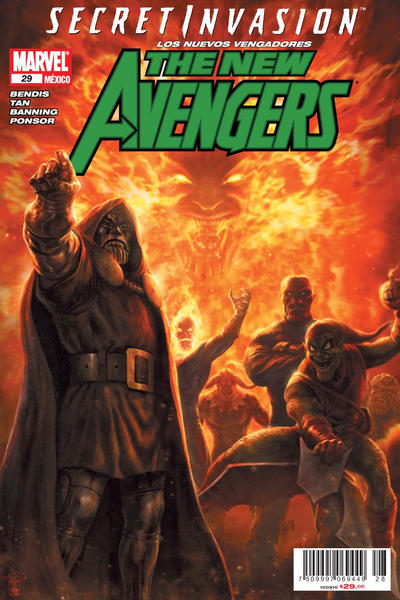 Cover for Los Nuevos Vengadores, the New Avengers (Editorial Televisa, 2006 series) #29