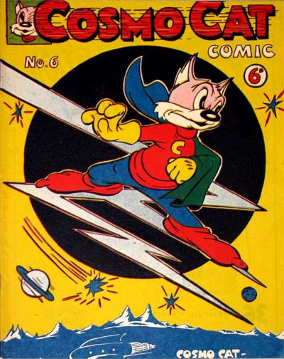 Cover for Cosmo Cat Comics (K. G. Murray, 1947 series) #6