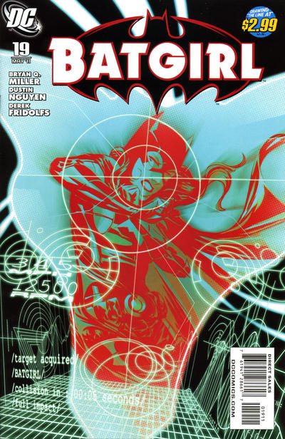 Cover for Batgirl (DC, 2009 series) #19