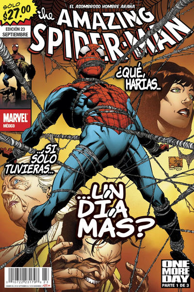 Cover for The Amazing Spider-Man, el Asombroso Hombre Araña (Editorial Televisa, 2005 series) #23