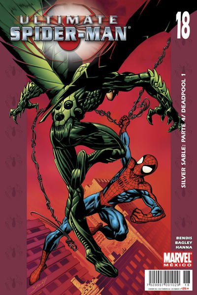 Cover for Ultimate Spider-Man (Editorial Televisa, 2007 series) #18