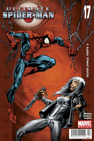 Cover for Ultimate Spider-Man (Editorial Televisa, 2007 series) #17