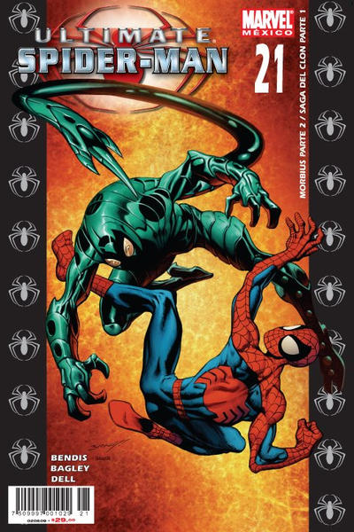 Cover for Ultimate Spider-Man (Editorial Televisa, 2007 series) #21