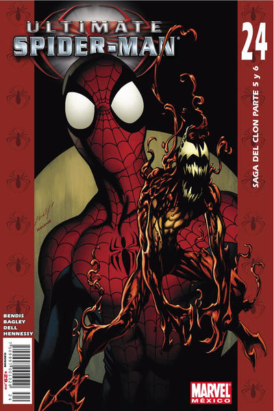 Cover for Ultimate Spider-Man (Editorial Televisa, 2007 series) #24