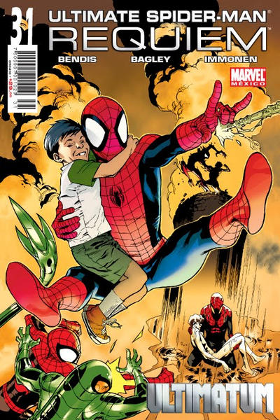 Cover for Ultimate Spider-Man (Editorial Televisa, 2007 series) #31