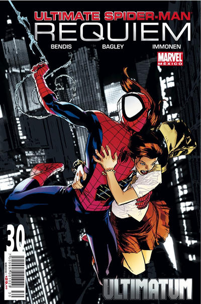 Cover for Ultimate Spider-Man (Editorial Televisa, 2007 series) #30