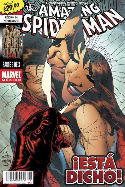 Cover for The Amazing Spider-Man, el Asombroso Hombre Araña (Editorial Televisa, 2005 series) #24