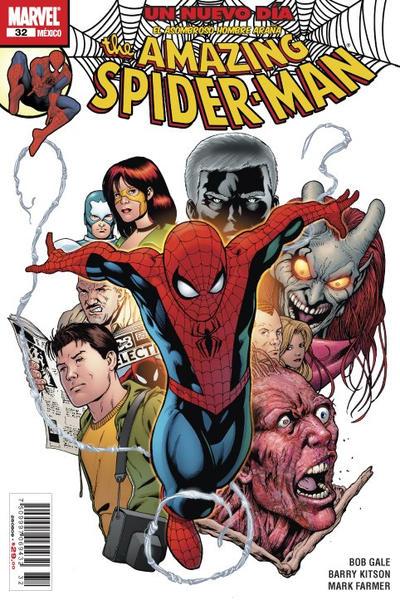 Cover for The Amazing Spider-Man, el Asombroso Hombre Araña (Editorial Televisa, 2005 series) #32