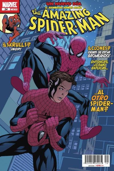 Cover for The Amazing Spider-Man, el Asombroso Hombre Araña (Editorial Televisa, 2005 series) #34