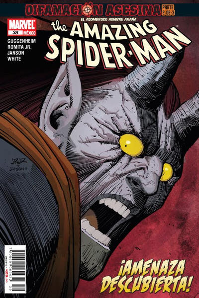Cover for The Amazing Spider-Man, el Asombroso Hombre Araña (Editorial Televisa, 2005 series) #38