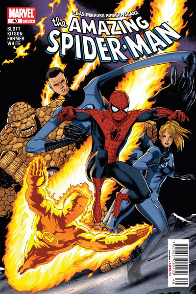 Cover for The Amazing Spider-Man, el Asombroso Hombre Araña (Editorial Televisa, 2005 series) #40