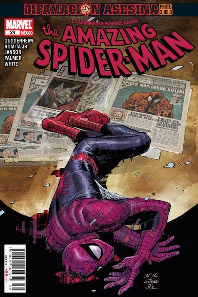 Cover for The Amazing Spider-Man, el Asombroso Hombre Araña (Editorial Televisa, 2005 series) #39