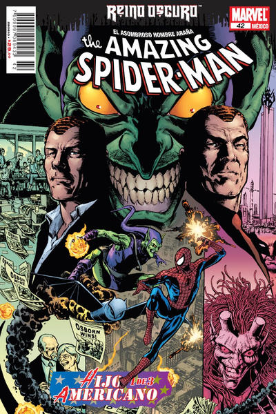Cover for The Amazing Spider-Man, el Asombroso Hombre Araña (Editorial Televisa, 2005 series) #42