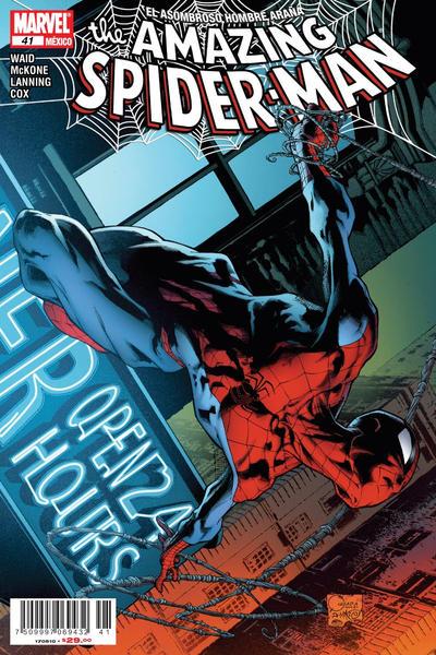 Cover for The Amazing Spider-Man, el Asombroso Hombre Araña (Editorial Televisa, 2005 series) #41