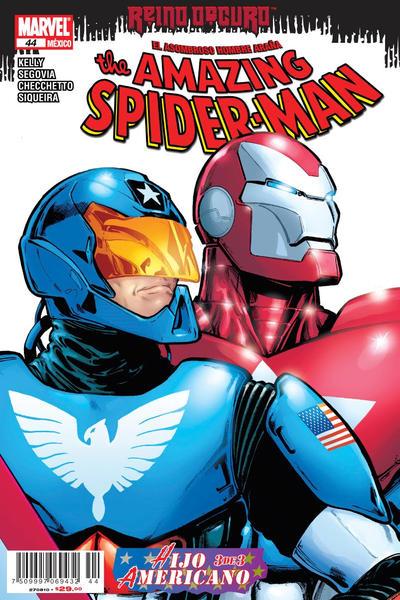 Cover for The Amazing Spider-Man, el Asombroso Hombre Araña (Editorial Televisa, 2005 series) #44