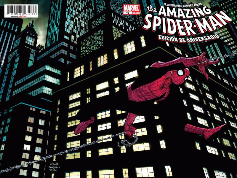 Cover for The Amazing Spider-Man, el Asombroso Hombre Araña (Editorial Televisa, 2005 series) #46
