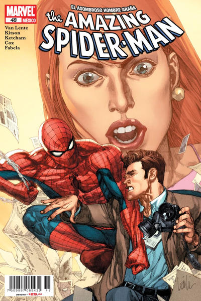 Cover for The Amazing Spider-Man, el Asombroso Hombre Araña (Editorial Televisa, 2005 series) #48