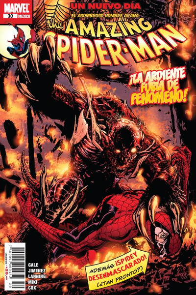 Cover for The Amazing Spider-Man, el Asombroso Hombre Araña (Editorial Televisa, 2005 series) #30
