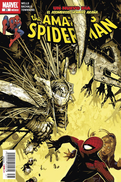 Cover for The Amazing Spider-Man, el Asombroso Hombre Araña (Editorial Televisa, 2005 series) #31