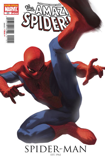 Cover for The Amazing Spider-Man, el Asombroso Hombre Araña (Editorial Televisa, 2005 series) #51