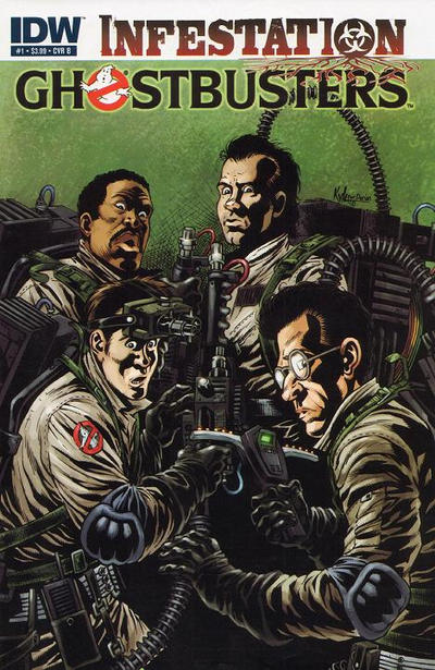 Cover for Ghostbusters: Infestation (IDW, 2011 series) #1 [Cover B]