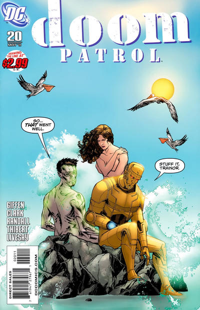 Cover for Doom Patrol (DC, 2009 series) #20