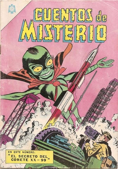 Cover for Cuentos de Misterio (Editorial Novaro, 1960 series) #89