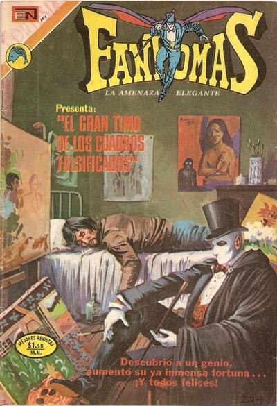 Cover for Fantomas (Editorial Novaro, 1969 series) #104