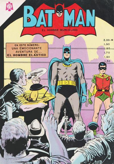 Cover for Batman (Editorial Novaro, 1954 series) #251