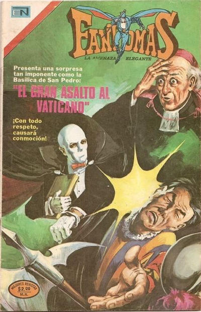 Cover for Fantomas (Editorial Novaro, 1969 series) #184