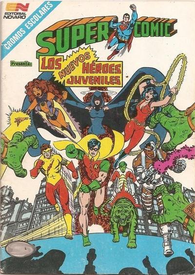 Cover for Supercomic (Editorial Novaro, 1967 series) #409