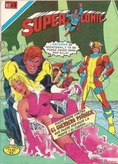Cover for Supercomic (Editorial Novaro, 1967 series) #196