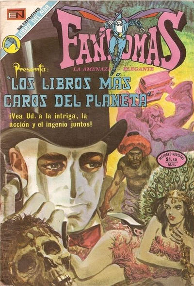 Cover for Fantomas (Editorial Novaro, 1969 series) #128