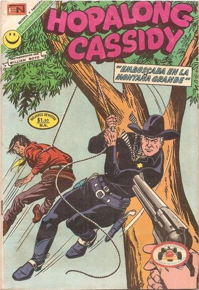 Cover for Hopalong Cassidy (Editorial Novaro, 1952 series) #214