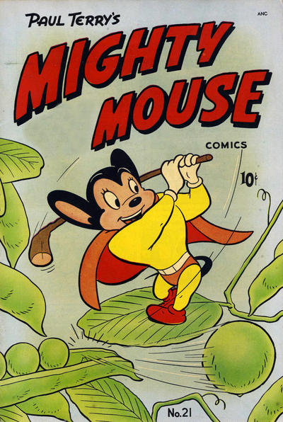 Cover for Mighty Mouse (St. John, 1947 series) #21 [36-pages]