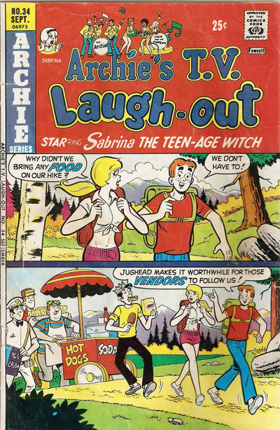 Cover for Archie's TV Laugh-Out (Archie, 1969 series) #34