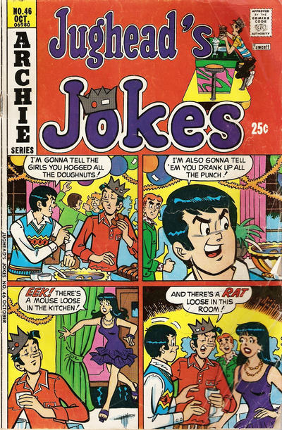 Cover for Jughead's Jokes (Archie, 1967 series) #46