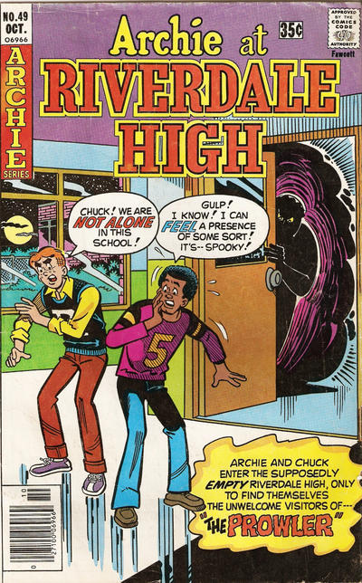 Cover for Archie at Riverdale High (Archie, 1972 series) #49