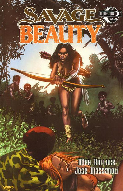 Cover for Savage Beauty (Moonstone, 2011 series) #1