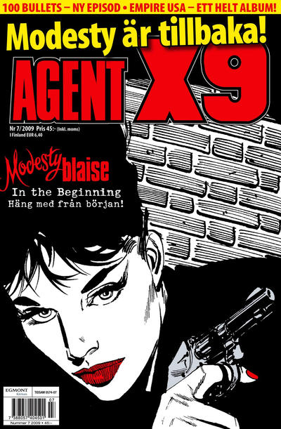 Cover for Agent X9 (Egmont, 1997 series) #7/2009