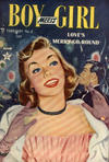 Cover for Boy Meets Girl (Lev Gleason, 1950 series) #8