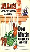Cover for Mad pocket (Illustrerte Klassikere / Williams Forlag, 1969 series) #Mad's Don Martin snubler videre