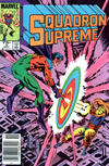 Cover for Squadron Supreme (Marvel, 1985 series) #3 [Newsstand]