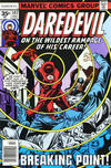 Cover for Daredevil (Marvel, 1964 series) #147 [35¢ Price Variant]